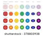 simple accurate chakras symbol... | Shutterstock .eps vector #378803938