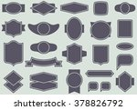 vector labels and frames... | Shutterstock .eps vector #378826792