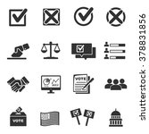 vote icons    vector icon set