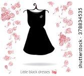 little black dress   vector....   Shutterstock .eps vector #378834535