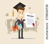 illustration of obtaining... | Shutterstock .eps vector #378836938