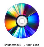 Cd And Dvd Disk Isolated On...