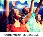 party  holidays  celebration ... | Shutterstock . vector #378851266