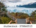 perito moreno glacier  el... | Shutterstock . vector #378860515