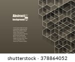 abstract  background with... | Shutterstock .eps vector #378864052