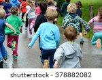 running kids | Shutterstock . vector #378882082