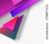 vector polygonal material... | Shutterstock .eps vector #378897112