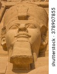 colossal statues of ramses ii ... | Shutterstock . vector #378907855