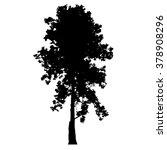 tree silhouette vector | Shutterstock .eps vector #378908296