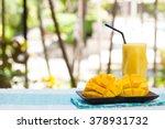 Fresh Tropical Fruit Smoothie...