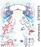 Notepad Doodles  Elements On...