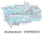 word cloud financial management | Shutterstock . vector #378940525