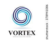 Logo Vortex Icon Element...