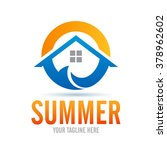 logo summer icon element... | Shutterstock .eps vector #378962602