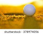 golf course | Shutterstock . vector #378974056