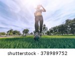 running outdoor | Shutterstock . vector #378989752
