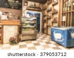 blur coffee shop background ... | Shutterstock . vector #379053712