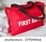 first aid kit closeup. a first...   Shutterstock . vector #379098466