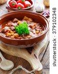 goulash soup | Shutterstock . vector #379102348