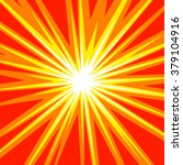 sun rays or star burst element... | Shutterstock .eps vector #379104916