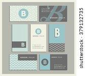 set of coordinating business... | Shutterstock .eps vector #379132735