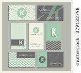 set of coordinating business... | Shutterstock .eps vector #379132798