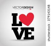 love card design  | Shutterstock .eps vector #379143148