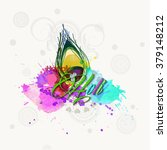 vector illustration or greeting ... | Shutterstock .eps vector #379148212