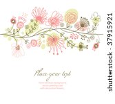floral background | Shutterstock .eps vector #37915921