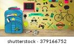 youth social media technology... | Shutterstock . vector #379166752