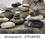 geology  rock or stone is a... | Shutterstock . vector #379186585