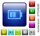 set of half battery color glass ...