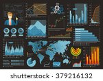 business and finance template...   Shutterstock .eps vector #379216132