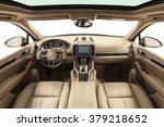 car interior luxury. interior... | Shutterstock . vector #379218652