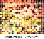 abstract square pixel mosaic... | Shutterstock .eps vector #37924894