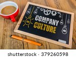 company culture concept on... | Shutterstock . vector #379260598