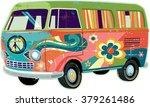 Retro Peace Van