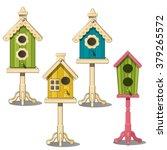 A Set Of Luxury Birdhouses....