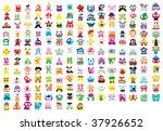 monsters | Shutterstock .eps vector #37926652