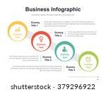 flat business presentation... | Shutterstock .eps vector #379296922