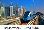 Dubai Metro Dubai United Arab...