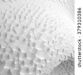 white geometric abstract... | Shutterstock . vector #379310386