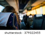 a bus journey showing the seats ... | Shutterstock . vector #379322455