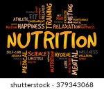 nutrition word cloud  fitness ... | Shutterstock . vector #379343068