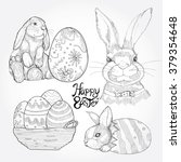 hand drawn illustrations of... | Shutterstock .eps vector #379354648