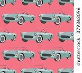 seamless pattern with corvette  ... | Shutterstock .eps vector #379363096