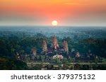 Beautiful Aerial View Of Angkor ...