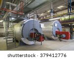 boiler station. boiler room....