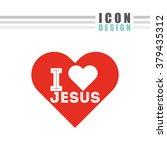 catholic icon design  | Shutterstock .eps vector #379435312