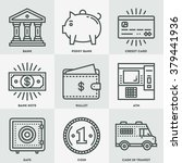 modern money and banking mono... | Shutterstock .eps vector #379441936